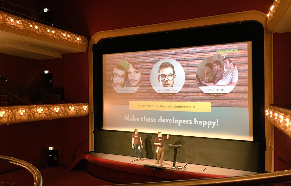 Efficient front-end development with Magnolia CMS - Presentation