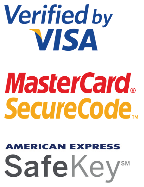 Triple Security for online Shopping - Visa, MasterCard and